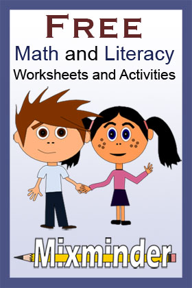 Common Core math and literacy activities